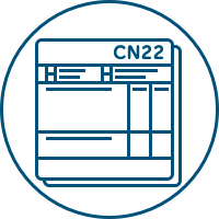 Customs forms (CN22 & CN23)