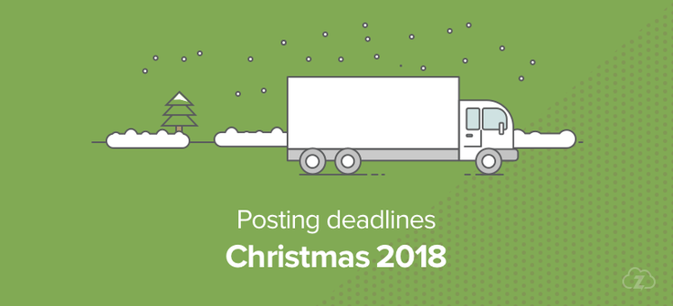 Christmas posting deadlines 2018