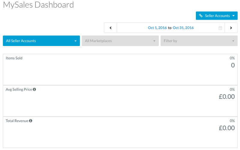 ebay sales dashboard