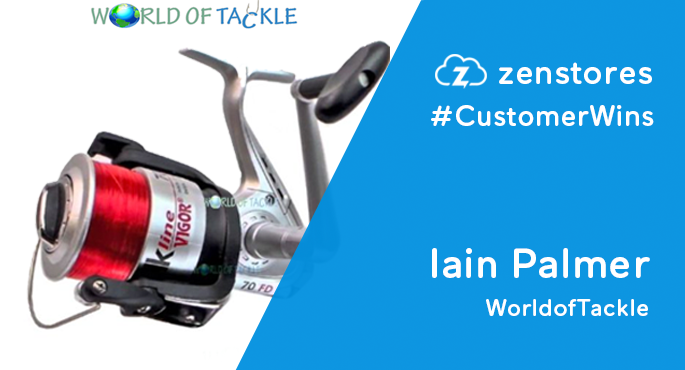 Iain Palmer World of Tackle