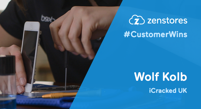 Zenstores success story - Wolf Kolb from iCracked UK