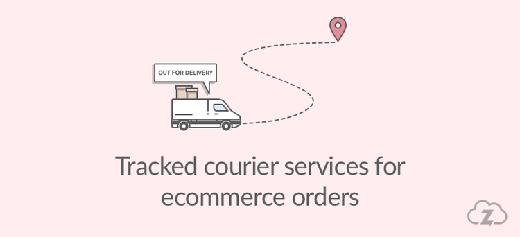 Ecommerce courier tracked services