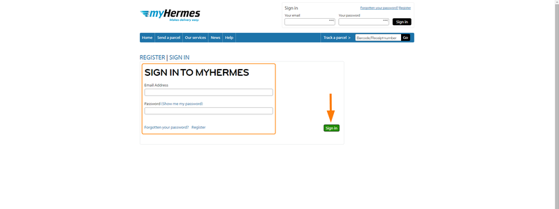 how to connect myhermes with zenstores 4