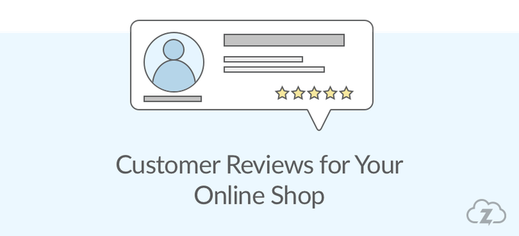 Customer reviews for online shop