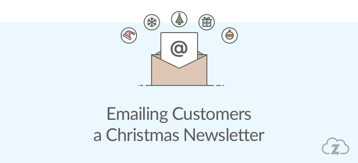 christmas newsletter ecommerce