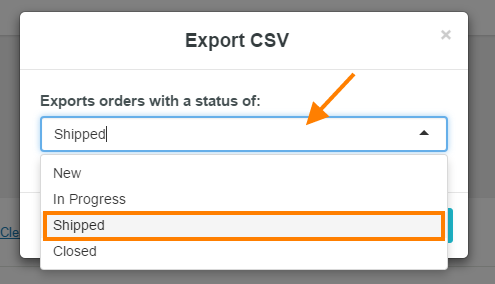 help export to csv 2