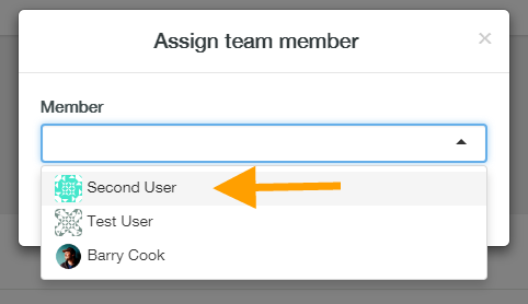 help how to assign team members 6