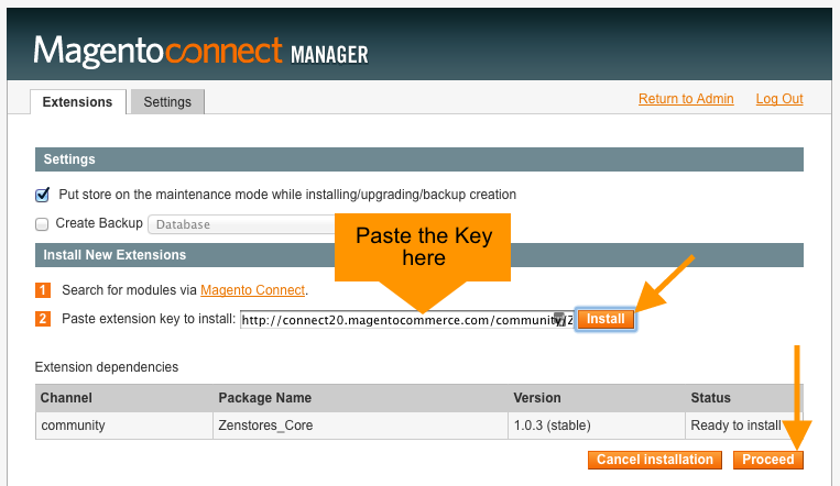 help how to connect magento 11