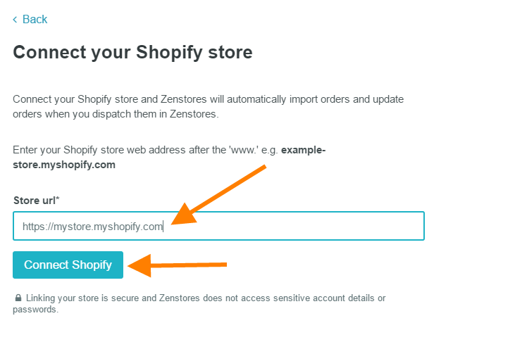 help connect shopify 3
