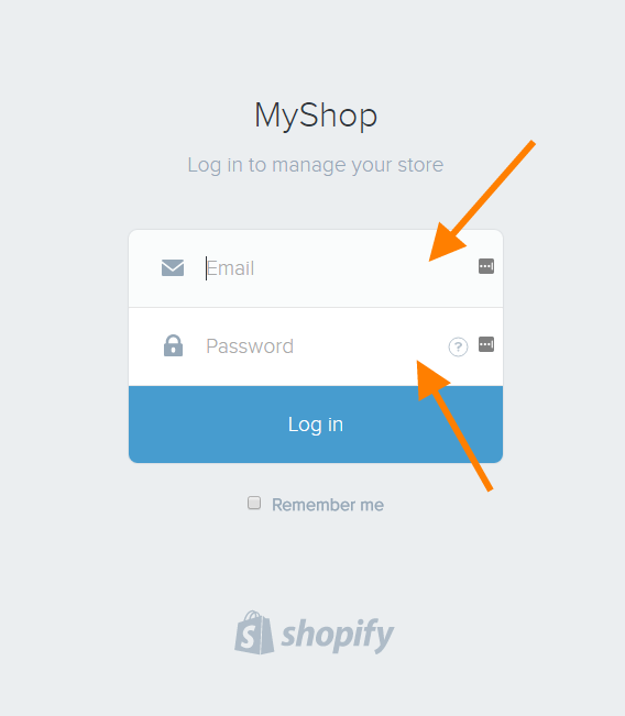 help connect shopify 4