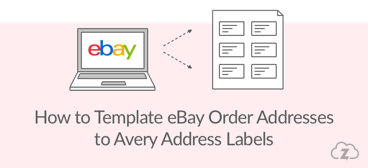 Use Avery Address Labels To Print EBay Delivery Labels - Template for printing address labels
