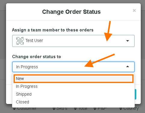 how to change order status 3