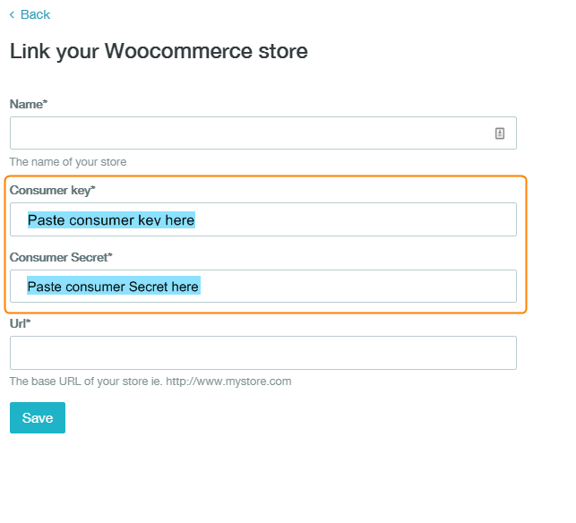 how to link woocommerce to zenstores 12