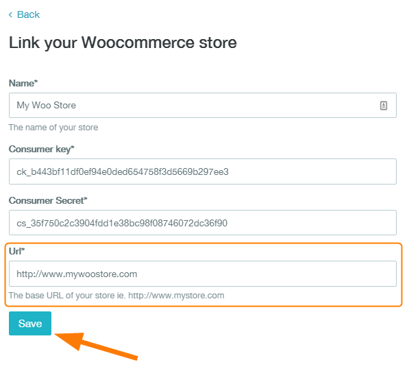how to link woocommerce to zenstores 13