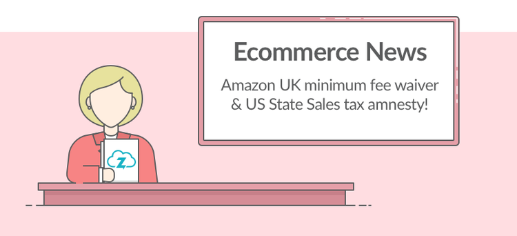 Ecommerce news: Amazon minimum fee waived