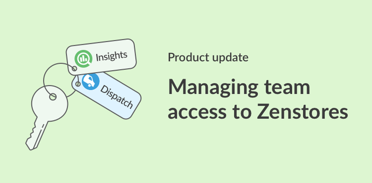 Manage teams in Zenstores