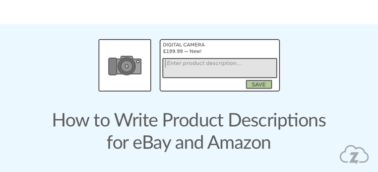 Product descriptions for eBay and Amazon