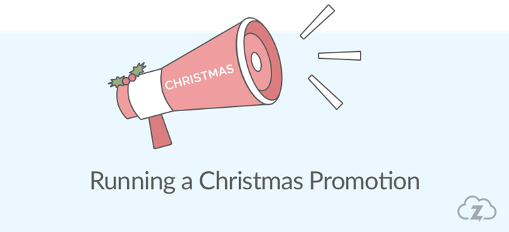 christmas promotion for your online shop