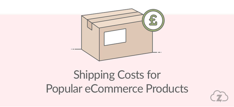 Shipping costs for popular ecommerce products