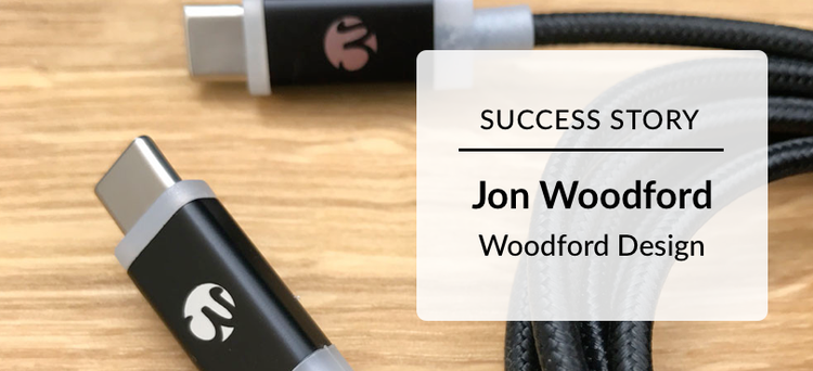 Success Story: Jon Woodford Woodford Designs