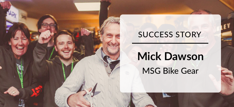 Success Story: Mick Dawson from MSG Bikes