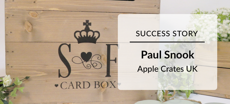 Success Story: Paul Snook Apple Crates UK