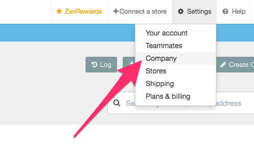 Adding a tax rate in Zenstores
