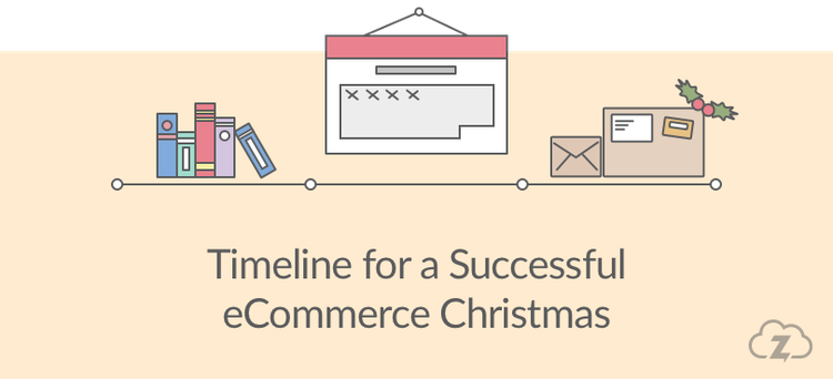 time line for ecommerce christmas